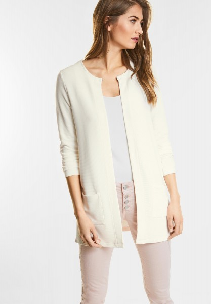 Street One - Openstyle Cardigan Erin in Off White