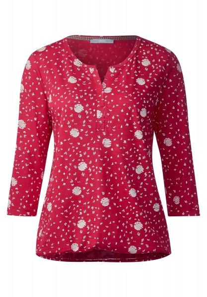 CECIL - Shirt mit Grafikprint Claire in Just Red