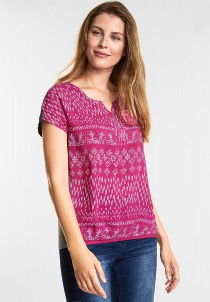CECIL - Shirt im Tunika Style in Galaxy Pink