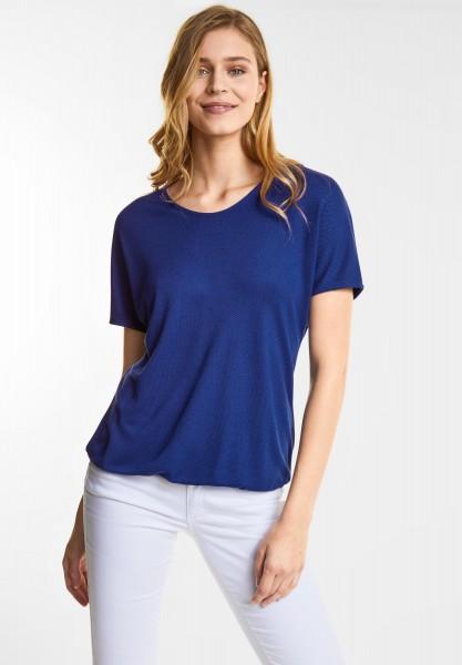 Street One Lockeres Shirt Insine in Saphire Blue