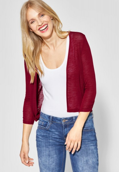 Street One - Kurze Shirtjacke Suse in Wine Red
