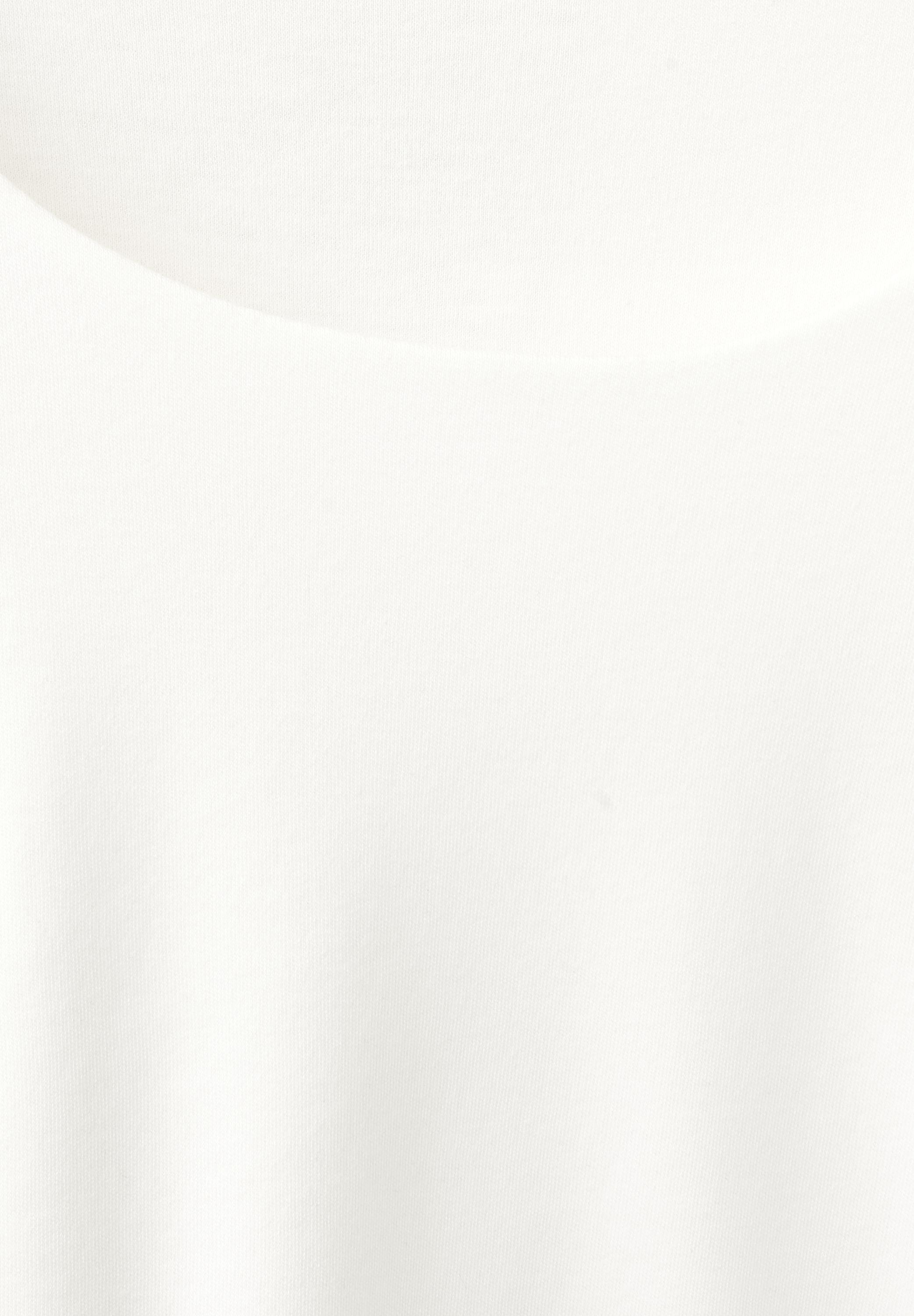 Street One Schmales Basic Shirt Pania in Off White
