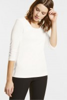 Street One - Basic Shirt Pania in Off White