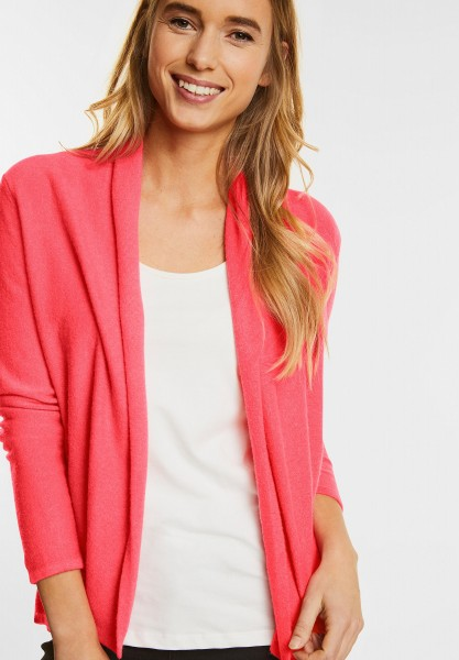 Street One - Open Style Cardigan Sophie in Colada Pink Knit