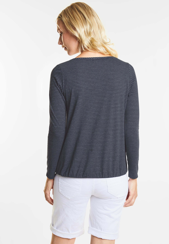 4c6630b8e72803 Shirt Malena in Deep Blue von Cecil online bestellen