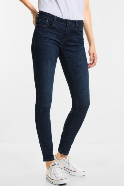 Street One - Middle Waist Denim York in Blue Clean Wash