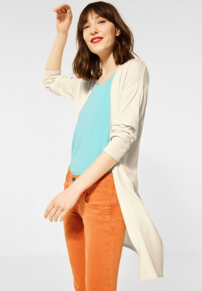 Street One - Langer Cardigan in Milky Sand