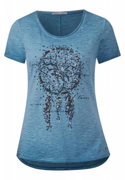 CECIL - Dreamcatcher Shirt Celestial Blue