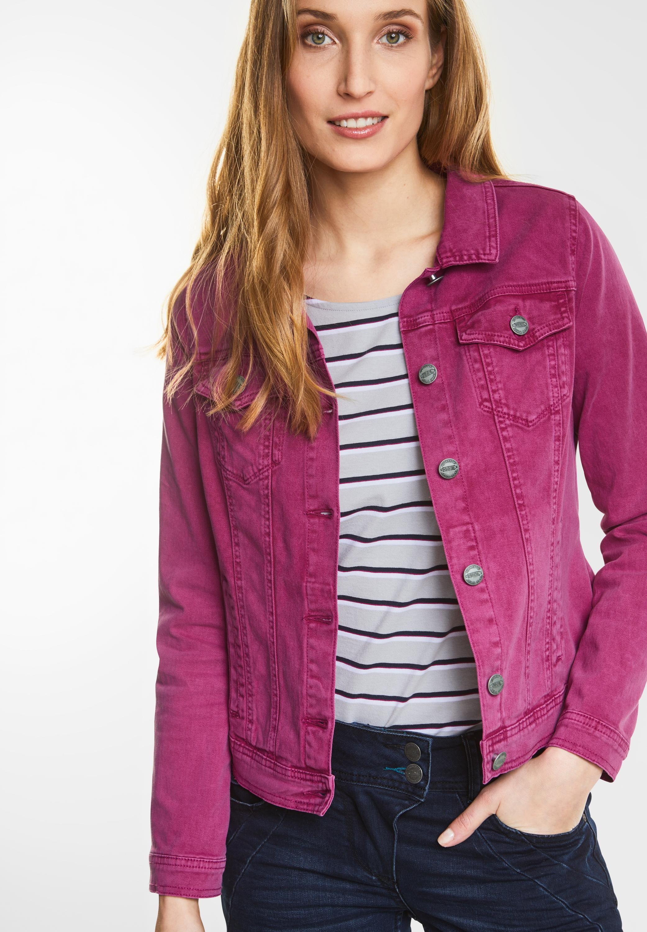 genuine shoes best cheap various design CECIL - Jeans Jacke Hedda in Magic Pink