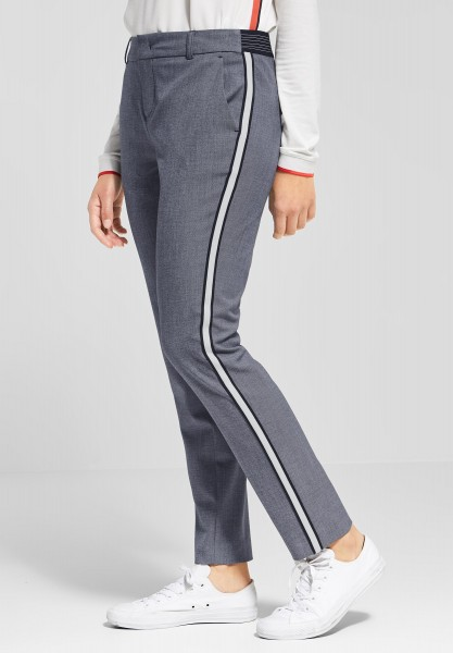 Street One - Casual Fit Hose Jacky in Sailing Blue