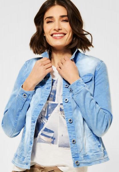 CECIL - Denim Jacke im Colour Style in Provence Blue