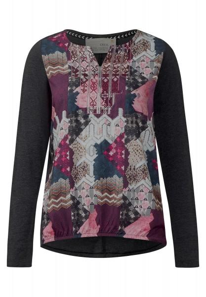 CECIL - Shirt mit Printfront Raptured Pink