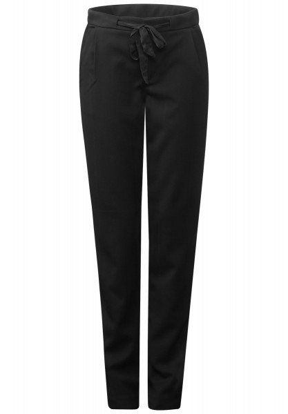 Street One - Casual Fit Hose Marlin Black