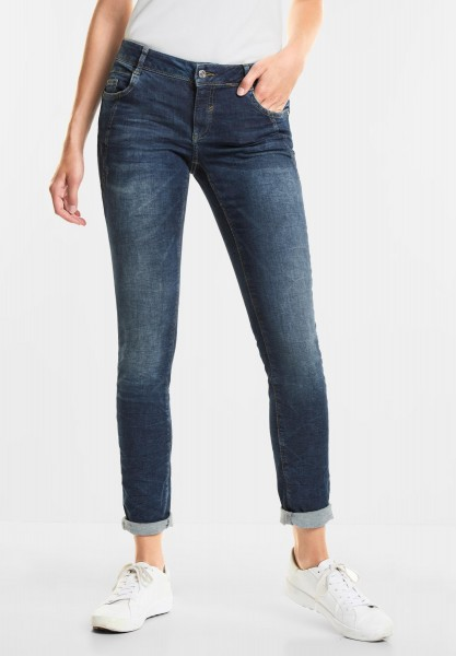 Street One Authentische Denim Crissi in Authentic Blue Indigo Wash