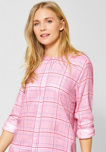 Street One - Bluse mit Mustermix in Dreamy Rose