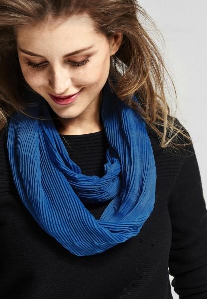 CECIL - Softer Plissee Loop Tori in Cornflower Blue