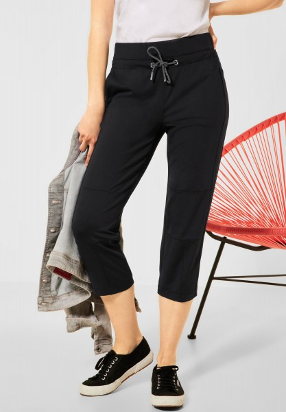 Street One - Loose Fit Hose in Länge 22 in Black