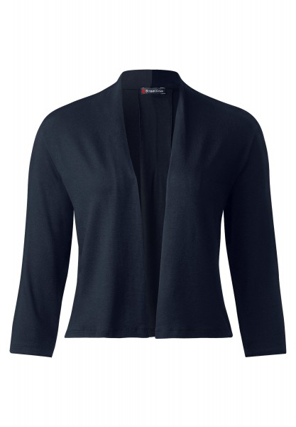 Street One - Offene Shirtjacke Peggy in Night Blue