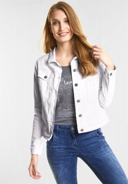 CECIL - Jeans Jacke Hedda in White