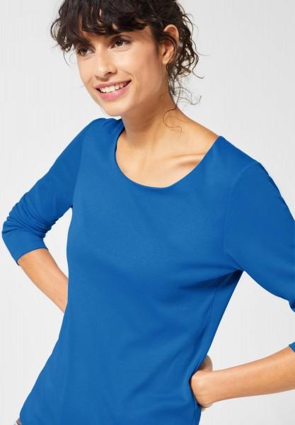 Street One - Doppelfront-Shirt Lanea in Active Blue