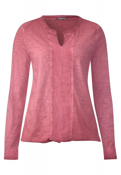 Street One - Vintage Wash Shirt Kassandra Fuchsia Blush