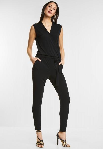 Street One - Eleganter Jumpsuit Jara in Black