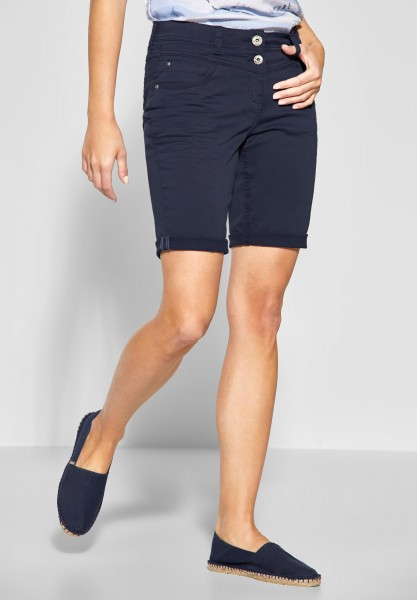 CECIL - Loose Fit Shorts New York in Deep Blue