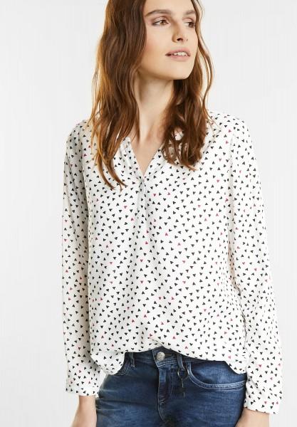 Street One - Tunika Style Bluse Hedda in Off White