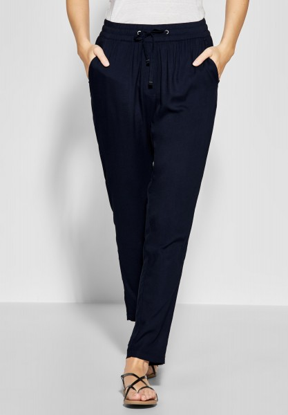 CECIL - Luftige Joggpants Chelsea in Deep Blue