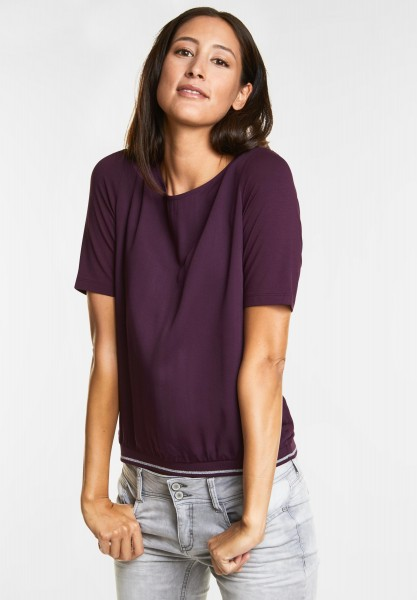 Street One Sportliches Shirt in Mystique Berry