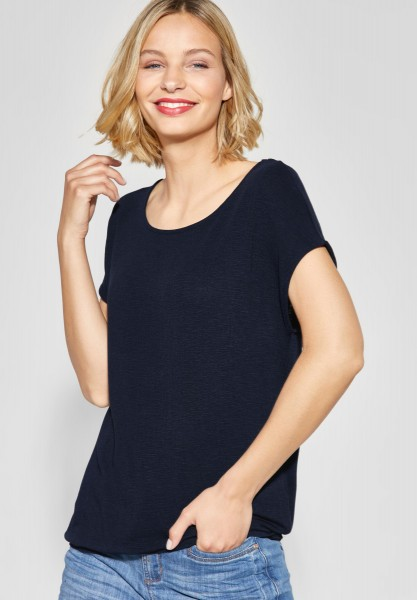 Street One - Softes Shirt Vianna in Deep Blue