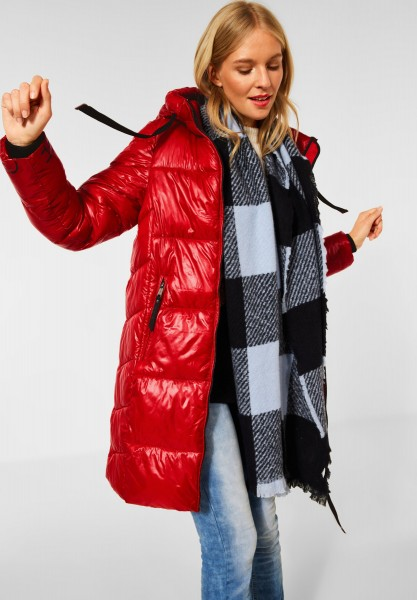 Street One - Outdoor Jacke mit Kapuze in Fabulous Red