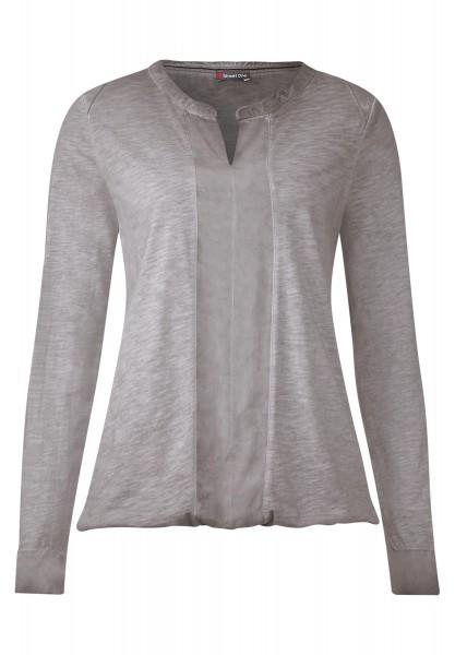 Street One - Vintage Wash Shirt Kassandra Cyber Grey