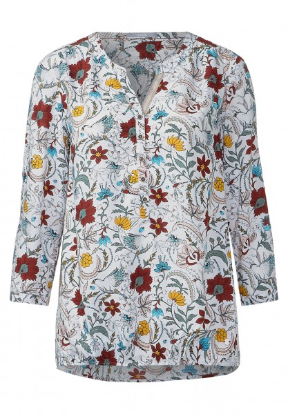 CECIL - Flower-Print Bluse