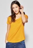 Street One - Basic Shirt Gerda in Bright Clementine