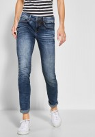 Street One - Casual Fit Denim Jane in Authentic Blue