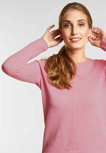 CECIL - Strick Pullover Amina in Soft Rose