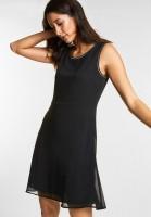 Street One - Kleid mit Glitzer-Effekt in Black