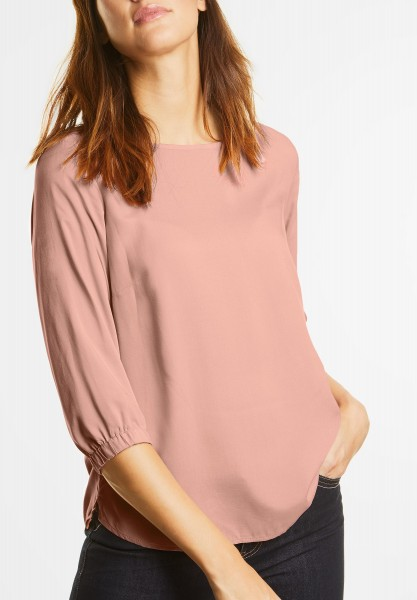Street One - Bluse mit 3/4-Arm Ottilie in Studio Rose