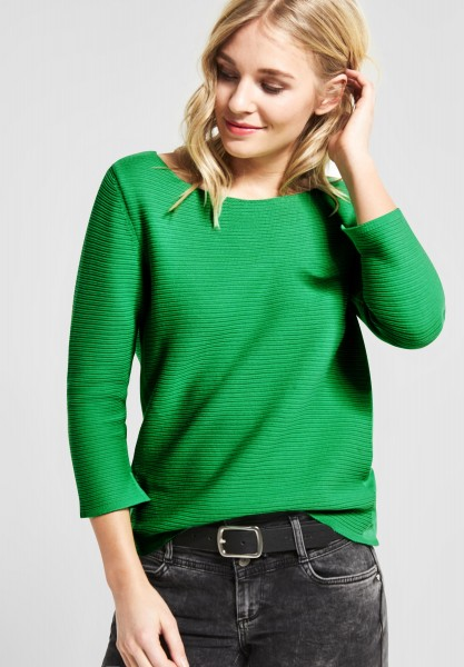 Street One - Struktur Pullover in Spring Green