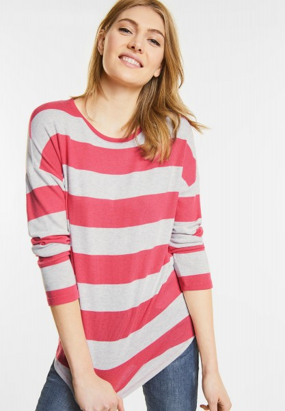 Street One - Kuscheliger Pullover Roja in Colada Pink