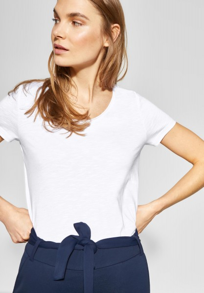 Street One - Basic Shirt Gerda in White