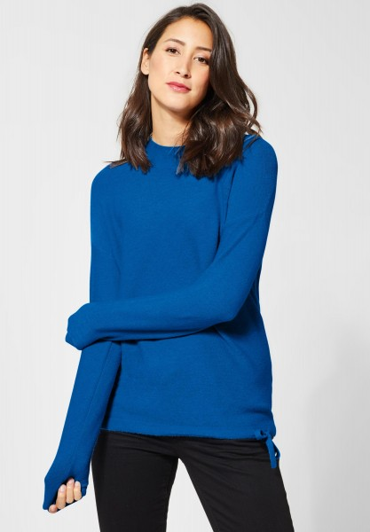 Street One - Basic Pullover Etti in Active Blue