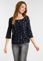 CECIL - Stylisches Shirt Lexi in Deep Blue