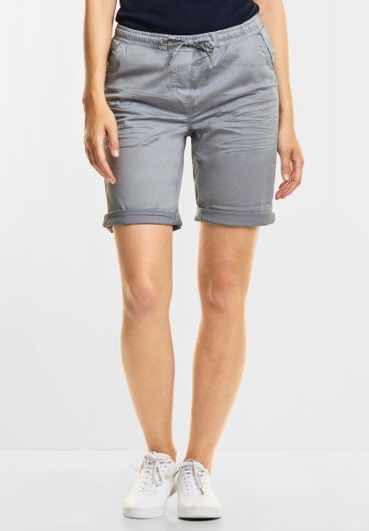CECIL - Lässige Shorts Chelsea in Cool Silver