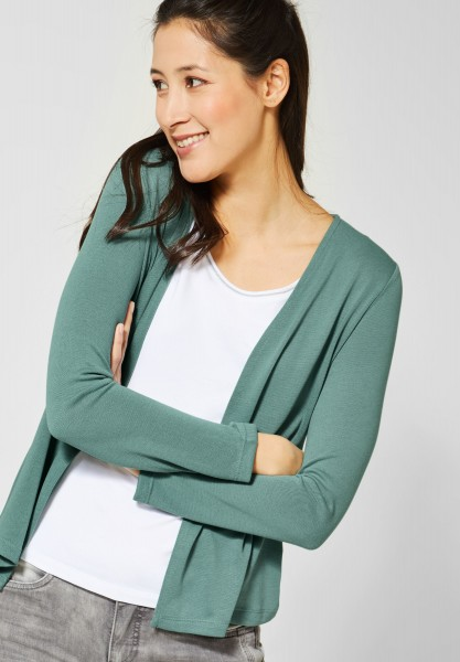Street One - Strickjacke Nette in Thyme Jade