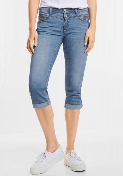 Street One - Feminine Denim Jane in Summer Random Bleach