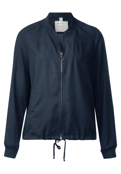 Street One - Weicher Blouson Kamilla in Night Blue