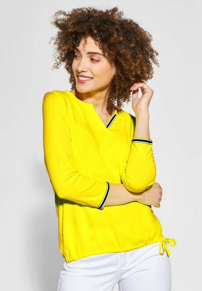 Street One - Feminines Shirt in Sunshine Yellow