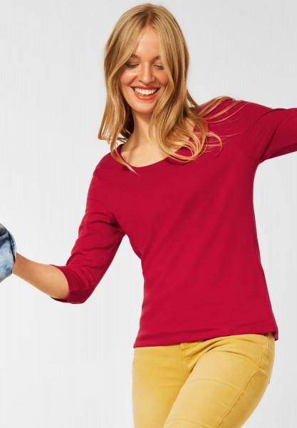 Street One - Basic Shirt Pania in Full Red